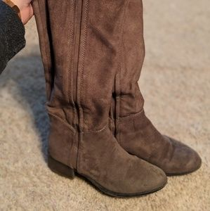 Shoes - Stone Colored Boots